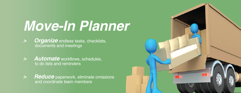 Retirement Home Software - Move-In Planner